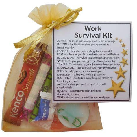 work survival kit work gift secret santa gift funny