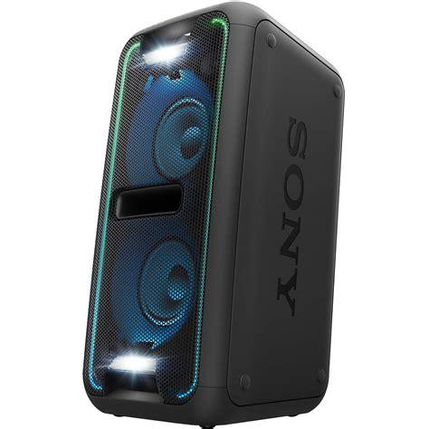sony bass gtk xb7 sony gtk xb7 portable bluetooth home audio system gtk