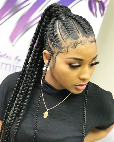 Cornrow Ponytail Hairstyles For by Braided Ponytail Hairstyles For Black Hair New
