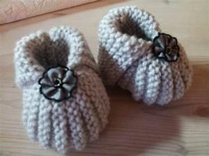 Chausson Chaussette Bébé : tricoter un chausson ~ Teatrodelosmanantiales.com Idées de Décoration