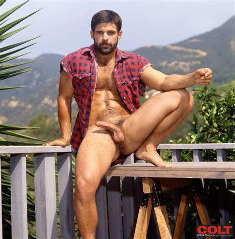 Vintage Hot Man Colts Tony Lombardy Daily Squirt