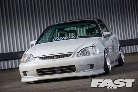 Modified Honda Civic Ek  Fast Car