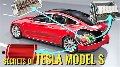 Car Electronic by Tesla S Electric Vehicle Technology Explained