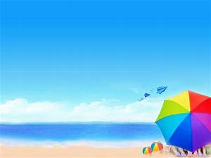 beach clipart powerpoint template pencil and in color With beach themed powerpoint templates