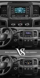 2013 2014 Dodge Ram 1500 2500 3500 4500 Car Stereo Upgrade Sat Nav Bluetooth Learn More  Please