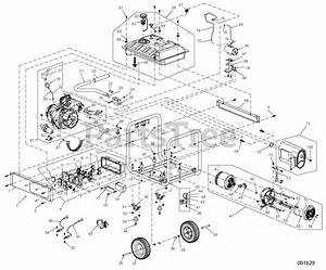 Generac Parts On The Parts Manual 8000w 50st  Carb