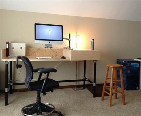 meuble bureau industriel et bureau mural diy en 63 id 233 es