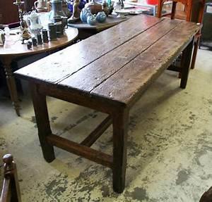 Table Ancienne De Ferme : table de ferme ancienne en chene massif table de lit ~ Teatrodelosmanantiales.com Idées de Décoration