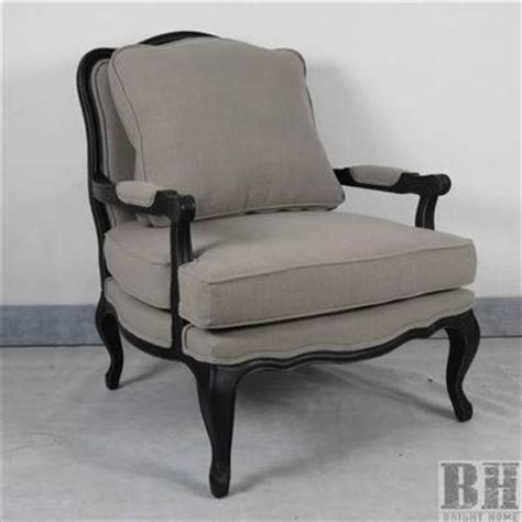 style accent chairs corliss antique style beige linen accent chair