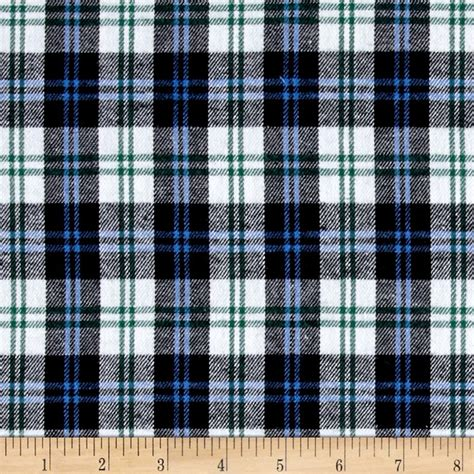 Blue Plaid Upholstery Fabric by Yarn Dyed Flannel Plaid Blue Navy White Discount