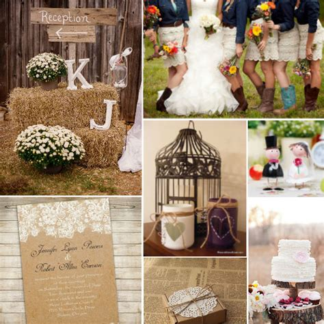 Country Wedding Color Ideas
