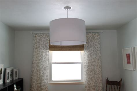 Drum Shade Chandelier Ikea by Ikea Nymo Drum Light And Westinghouse Pendant Light Kit