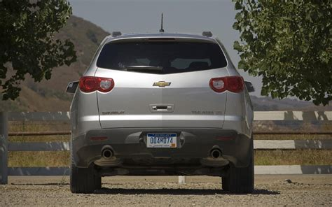 2009 Chevrolet Traverse Ltz Awd  Quick Test  Motor Trend