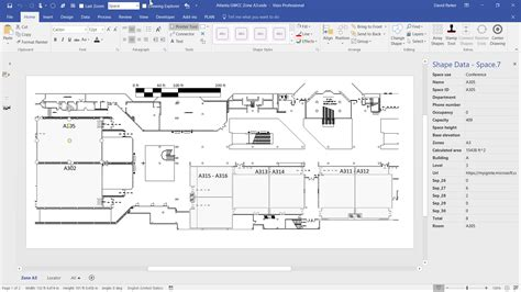 Previewing The #visio Custom Visual In #powerbi Bvisual