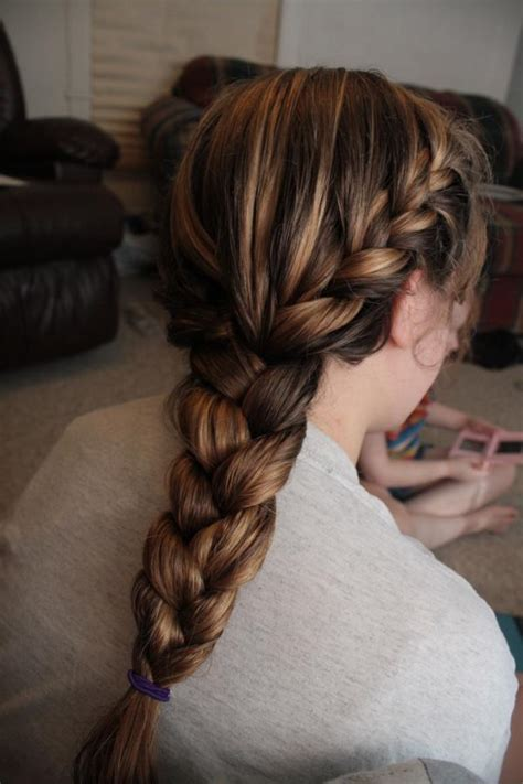 graceful french braid hairstyles slodive