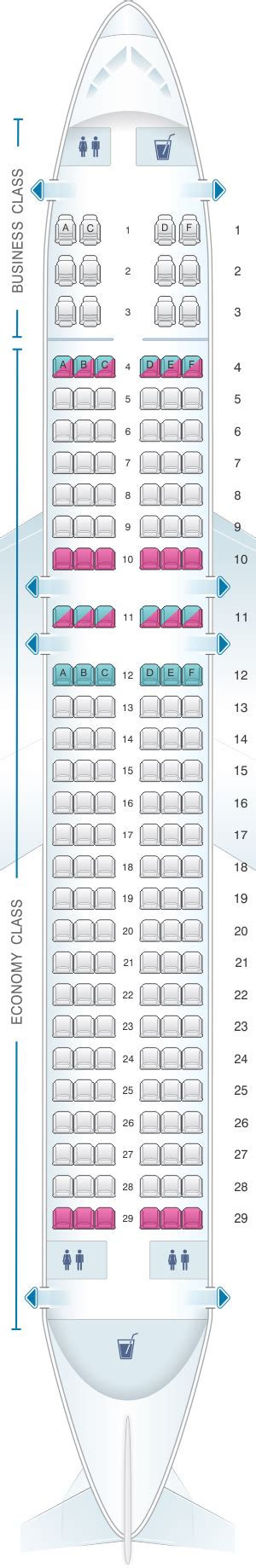 airbus a320 sieges seat map brussels airlines airbus a320 seatmaestro