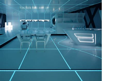 DuPont™ Corian® Exhibition inspired by TRON: Legacy ...