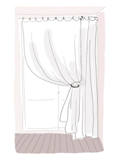 comment attacher rideau trop