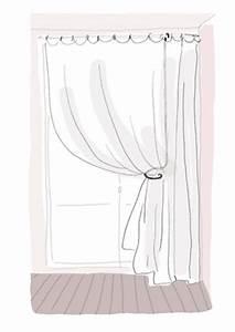 Comment Poser Des Rideaux De Façon Originale : comment attacher rideau trop long ~ Zukunftsfamilie.com Idées de Décoration
