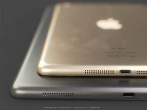 Ipad 5 gold ipad mini 2 renders show touch id for Iphone 5s upgrade ipad 5 and ipad mini 2 set for october