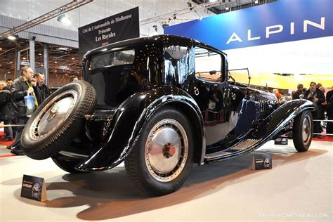 Numbers built bugatti redesigned the engine and was used in the war to power airplanes. Salon Retromobile 2015 - Report and Photos