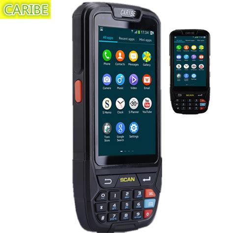 barcode scanner android aliexpress buy caribe pl 40l news industrial mini
