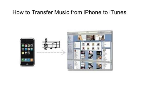 how to transfer from i phone to itunes