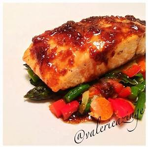 Ripped Recipes - Slow Roasted Salmon With Ginger Glaze and ...