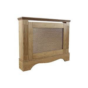berkshire small oak effect radiator cover departments