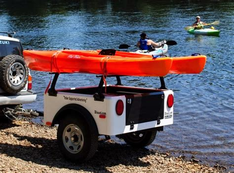 jeep kayak trailer jeep style trailer by dinoot trailers