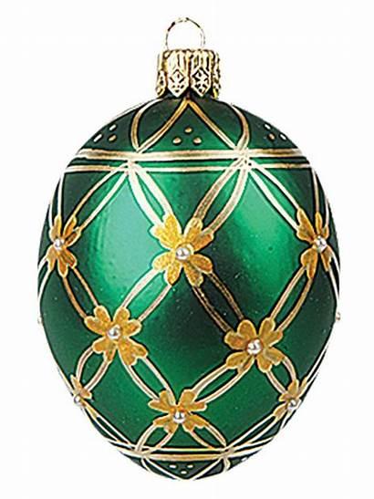 Faberge Ornament Inspired Glass Polish Easter Egg