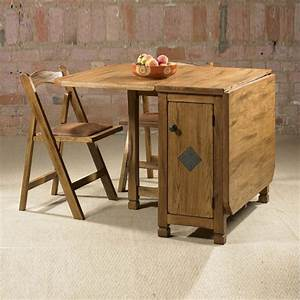 Beautiful folding dining table with good design charming for Try and attractive foldable dining table