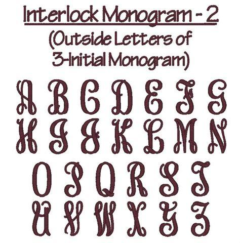 monogram font interlock  monogram fonts monogram fonts monogram stencil