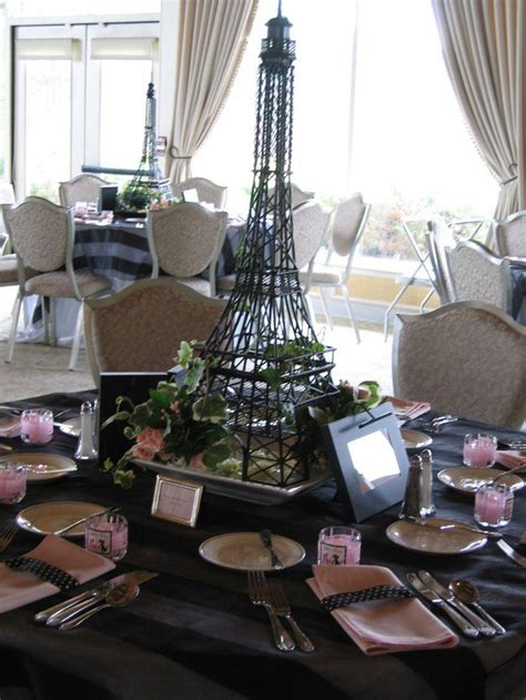 Tower Decorations by 35 Eiffel Tower Table Decorations Ideas Table Decorating