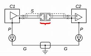 File Ground Loop Solution - Isolation Transformer Svg