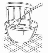 Coloring Soup Popular Coloringhome sketch template