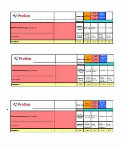 excel matrix template 6 free excel documents download With safety training matrix template