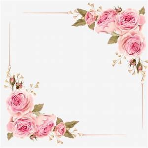 Rose Border, Rose, Pink Roses, Frame PNG Image and Clipart ...