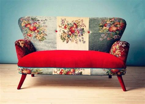 Funky Loveseat by Settee Floral Funky Seat Sofa Furniture