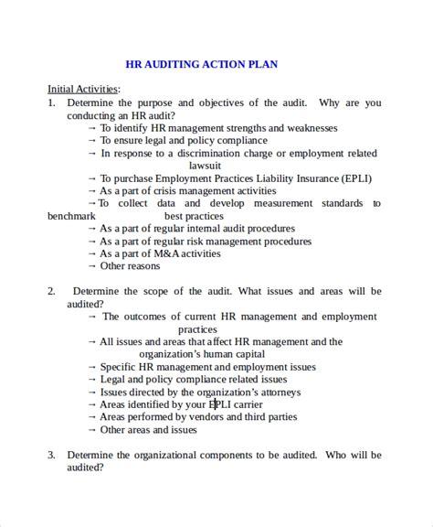 sample hr plan templates  ms word