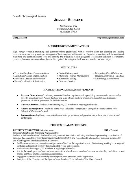 Chronological Resume Cover Letter by Pin By Resume On Sles Sle Government