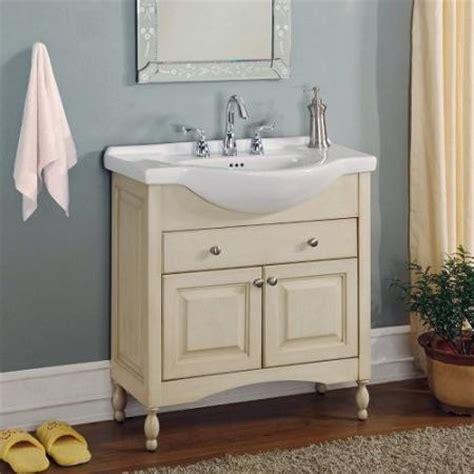 narrow bathroom vanities  simple solution   small
