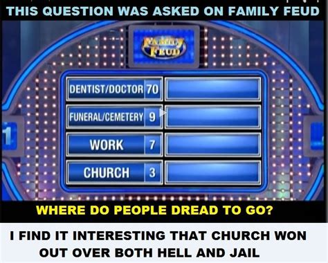 family feud asked   top  answers   question