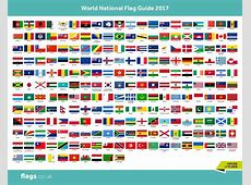 This is a visual list of all the national flags we can