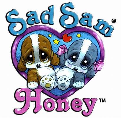 Sad Sam Honey Chains Key Dog Puppy