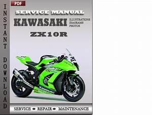Kawasaki Zx10r Factory Service Repair Manual Download