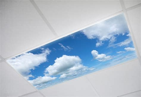 cloud kitchen fluorescent light covers sky ceiling light cover