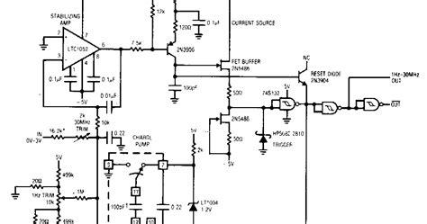 Voltage Frequency Converter Circuit Diagram Supreem