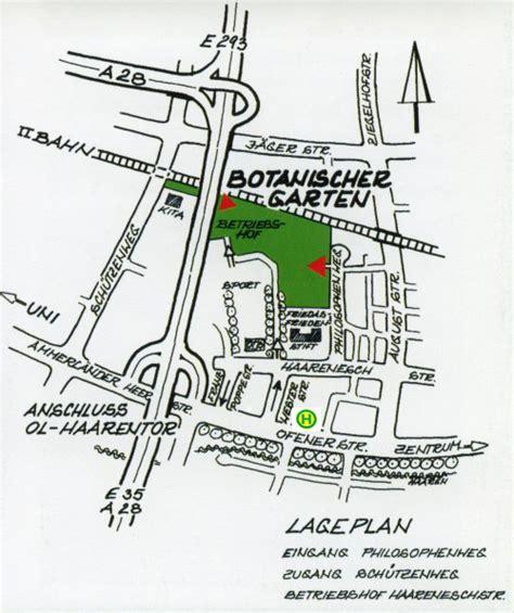 Botanischer Garten Oldenburg Philosophenweg by Anreise Institut F 252 R Biologie Und Umweltwissenschaften