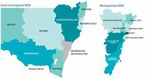 Nsw Local Health District Map  2011